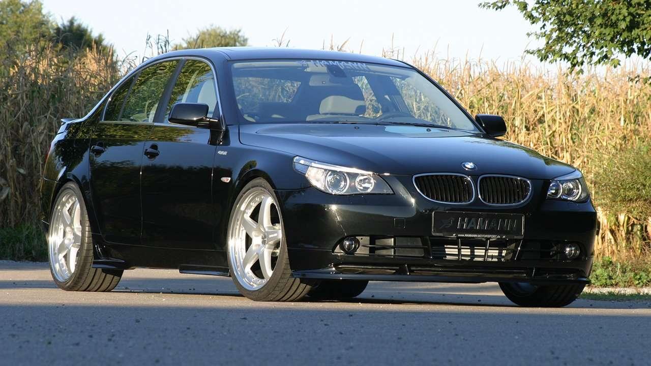 BMW 5-Series e60 фото морды