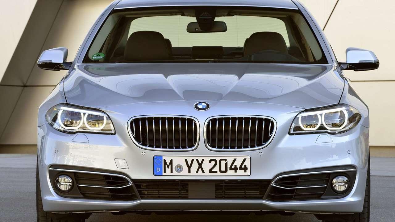 BMW 5-Series F10 морда