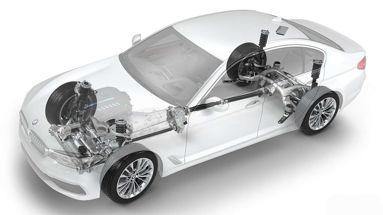 Схема подвески BMW 5-Series G30