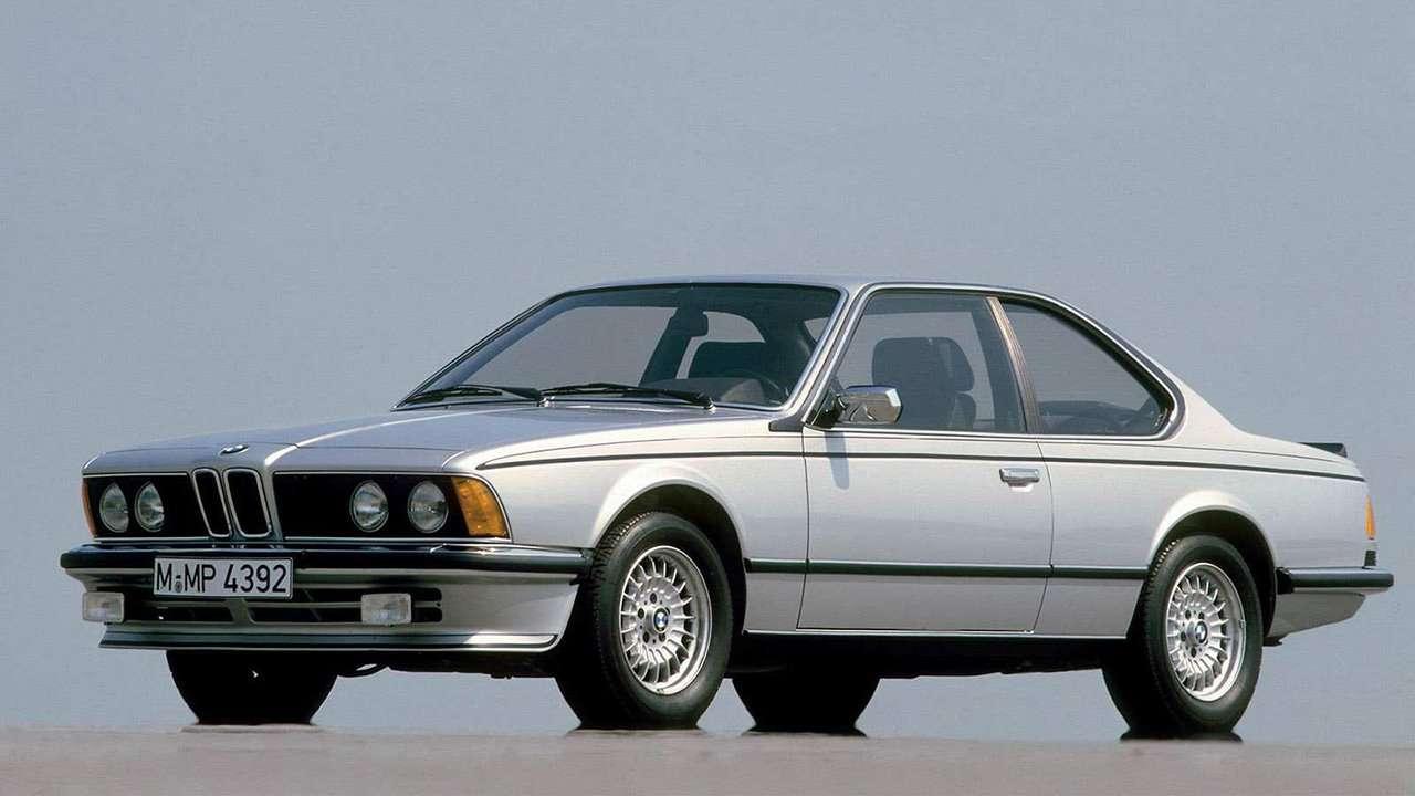 BMW 6-Series e24 фото спереди