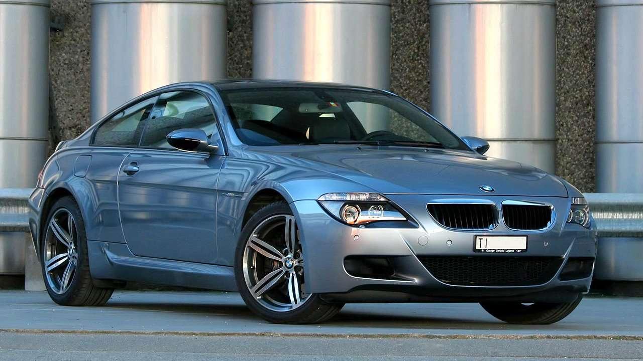 BMW 6-Series e63 фото спереди