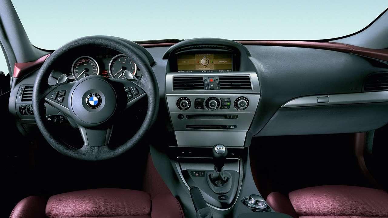 BMW 6-Series e63 салон