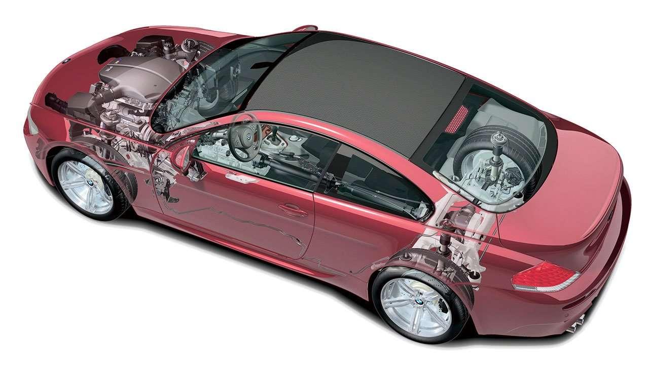 Техническая начинка BMW 6-Серии е63