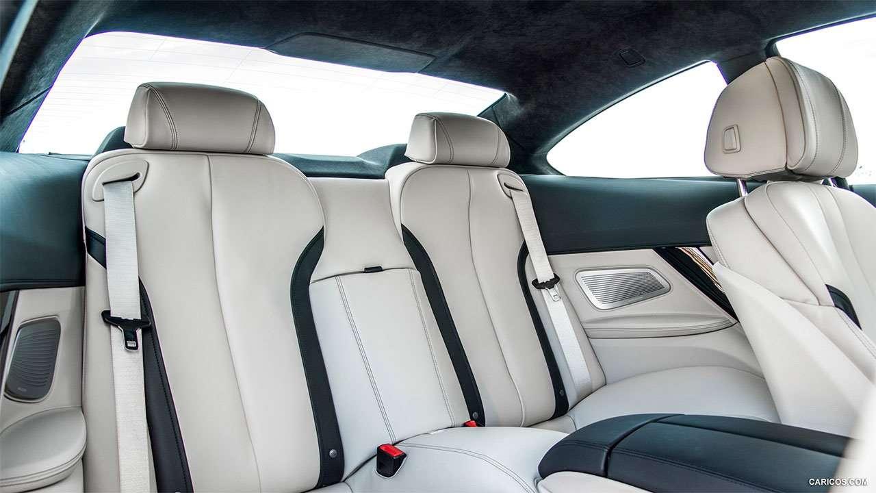 Задние сиденья BMW 6-Серии Ф13