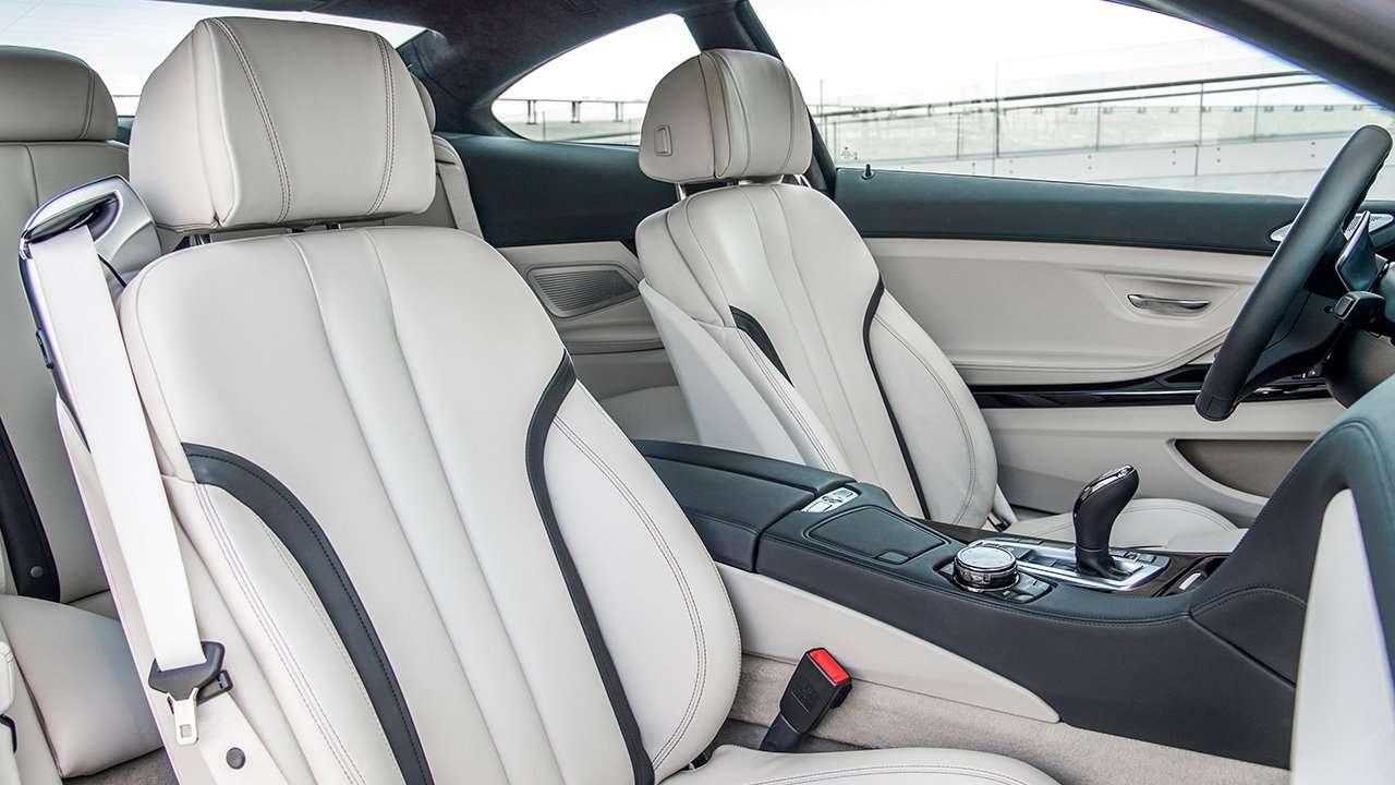 BMW 6-Series F13 (Купе) 2015-2017 передние сиденья