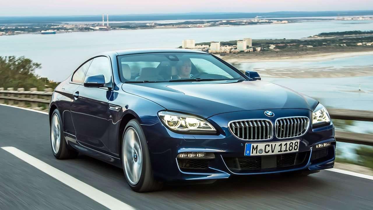 BMW 6-Series F13 спереди