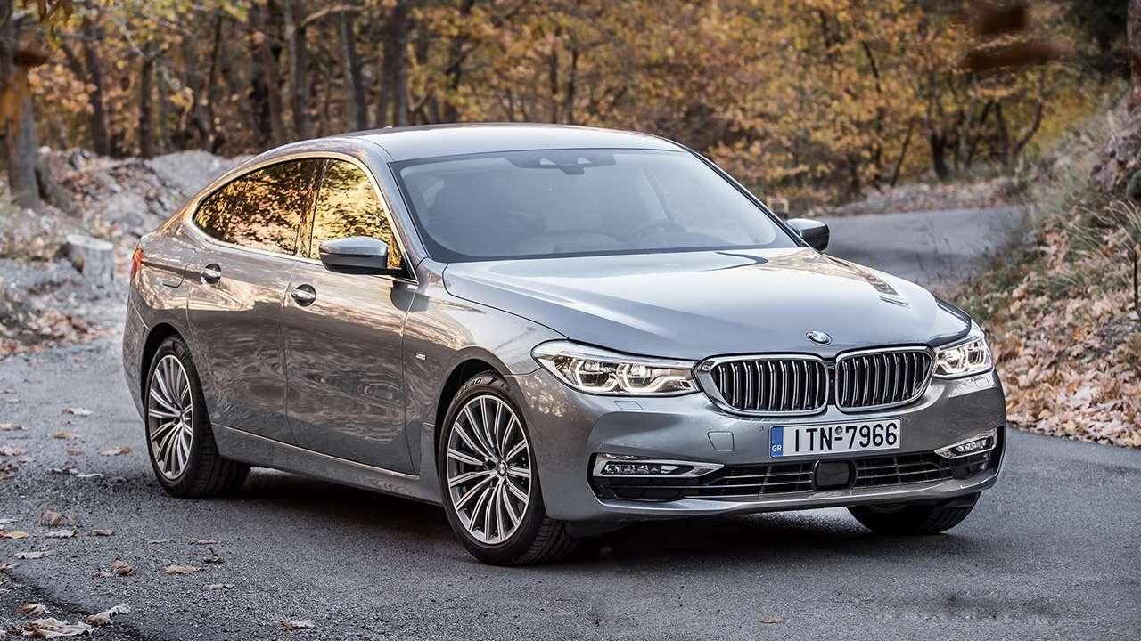BMW 6-Series GT (2020-2021) фото спереди