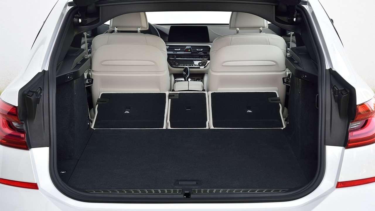 Фото багажника БМВ 6 Серии ГТ 2020-2021
