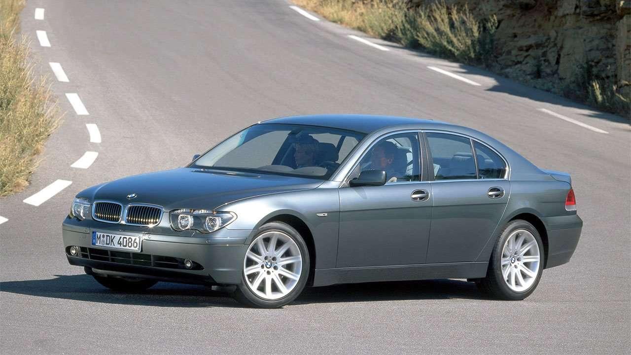 BMW 7-Series e65/e66 фото спереди