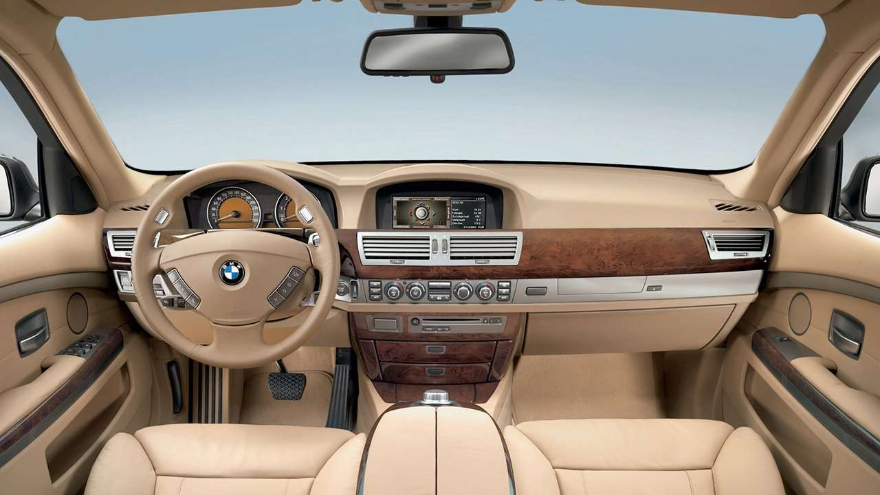 Салон BMW 7-Series e65/e66