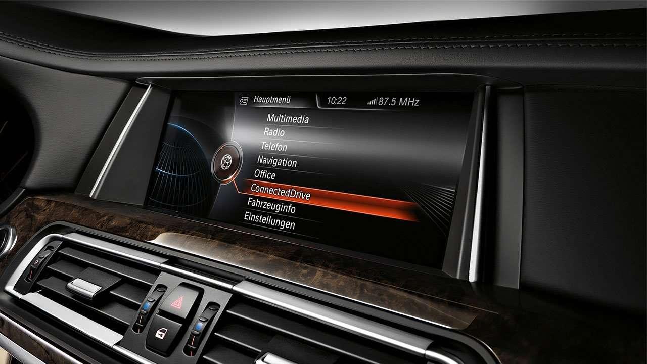 Дисплей мультимедиа BMW 7-Series