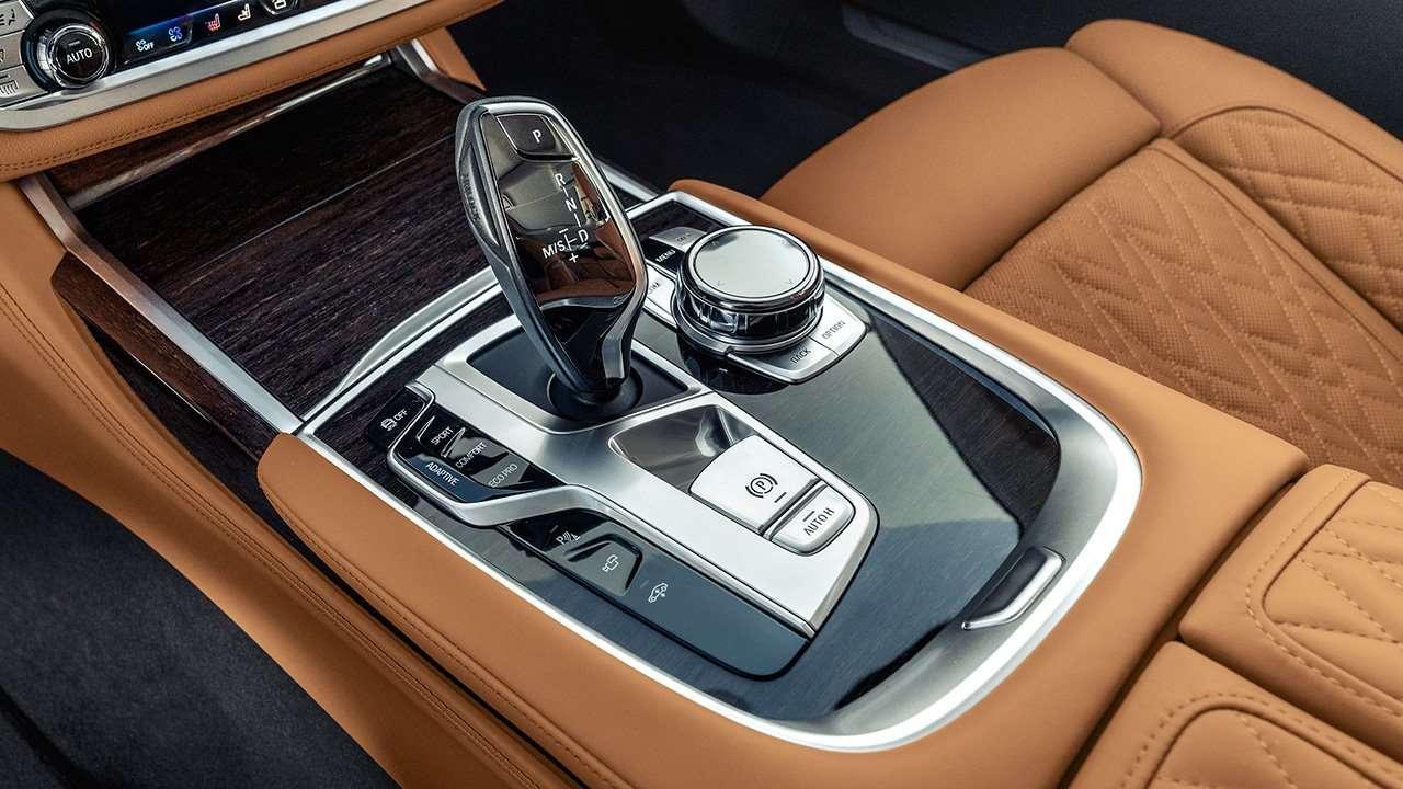 Селектор КПП новой BMW 7-Series 2020-2021