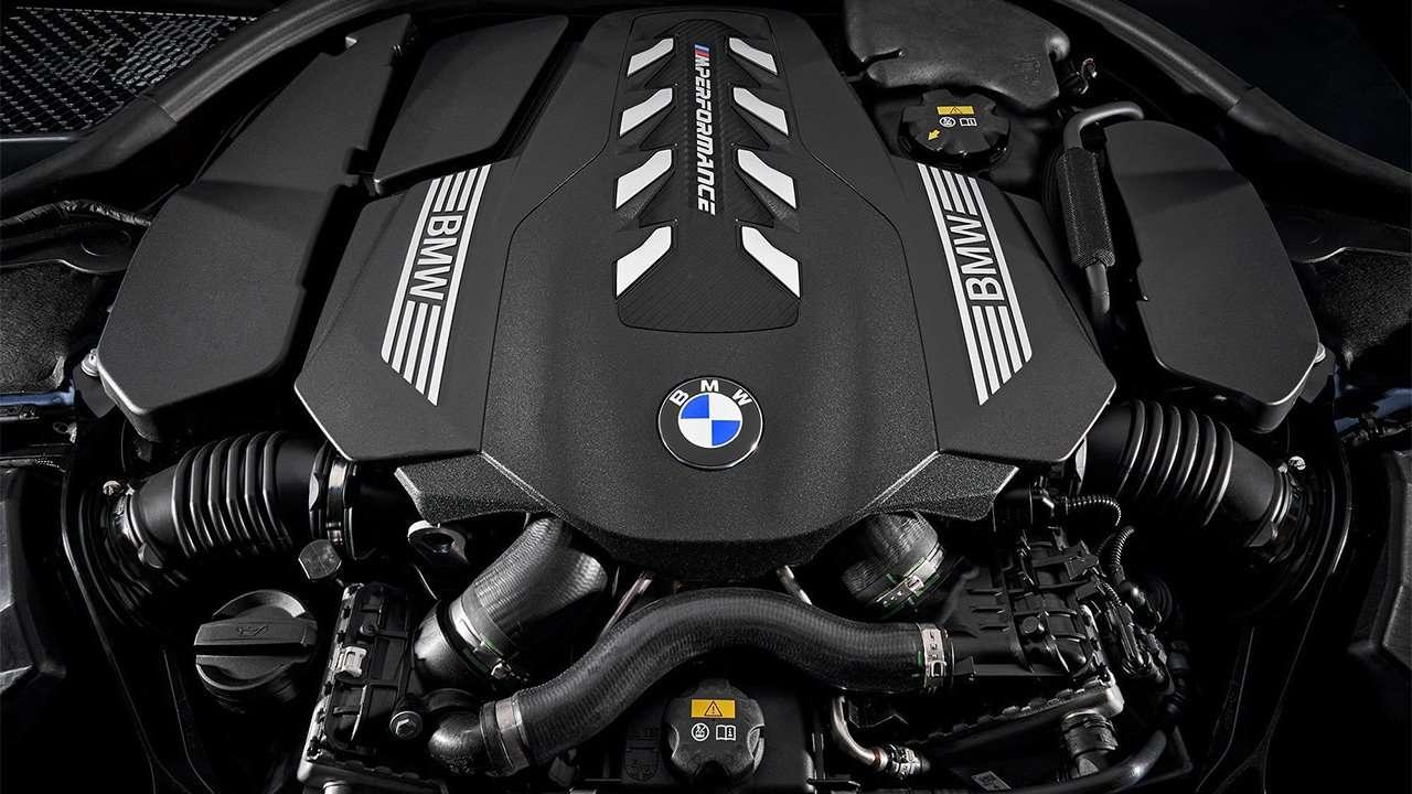Двигатель 8-Серии G15