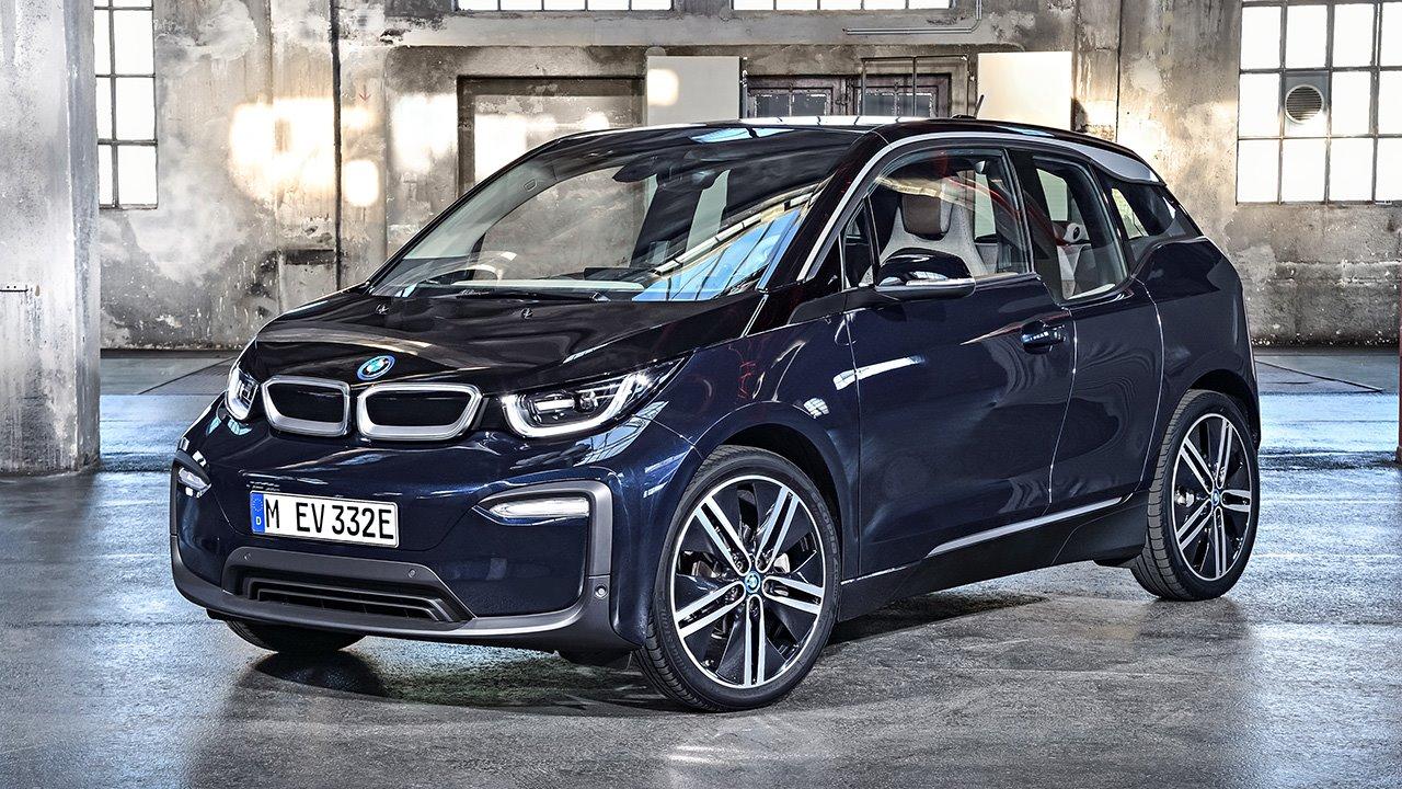 BMW i3 2017 фото спереди