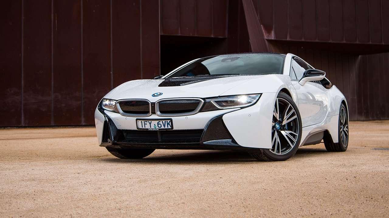 BMW i8 2020-2021 морда