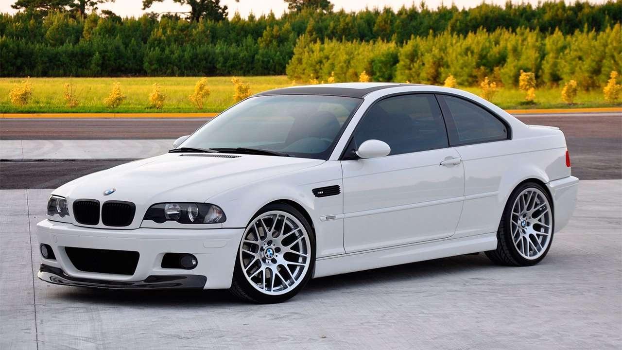 BMW M3 e46 фото спереди