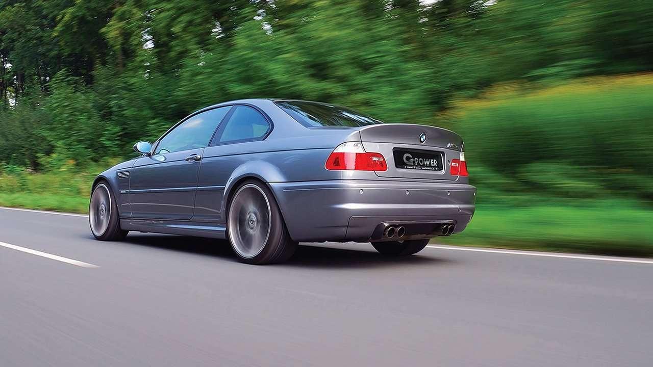 BMW M3 e46 фото сзади
