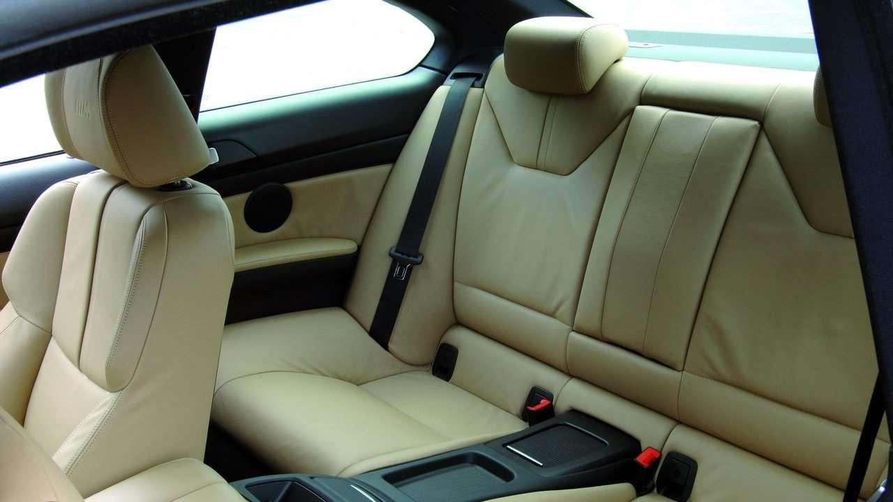 Задние сиденья БМВ М3 е90
