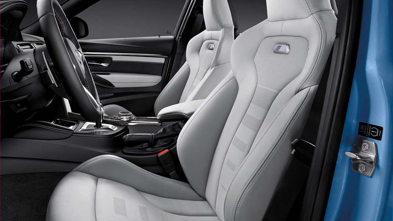 BMW M3 F80 (2014-2018) передние сиденья