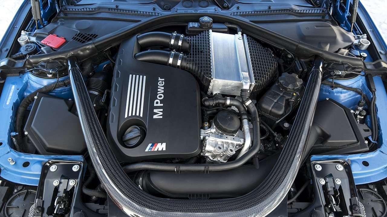 Двигатель БМВ М3 Ф80 (2014-2018)