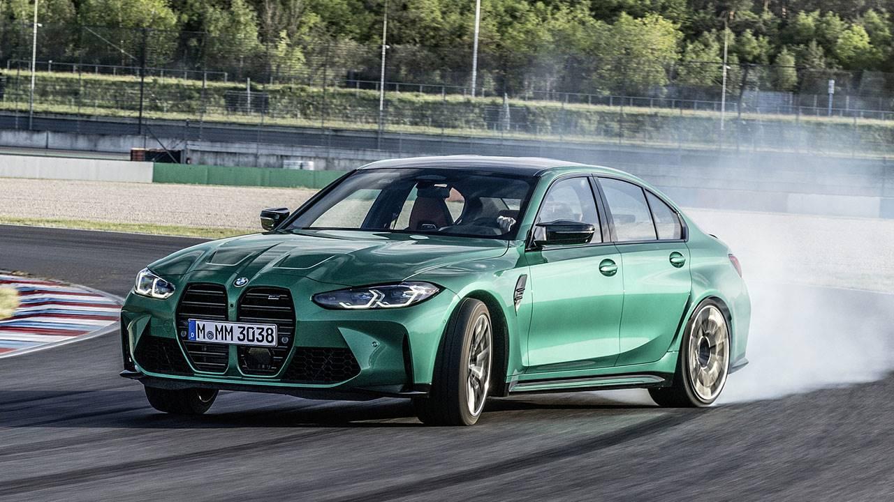 Дрифт на новой BMW M3 2020-2021