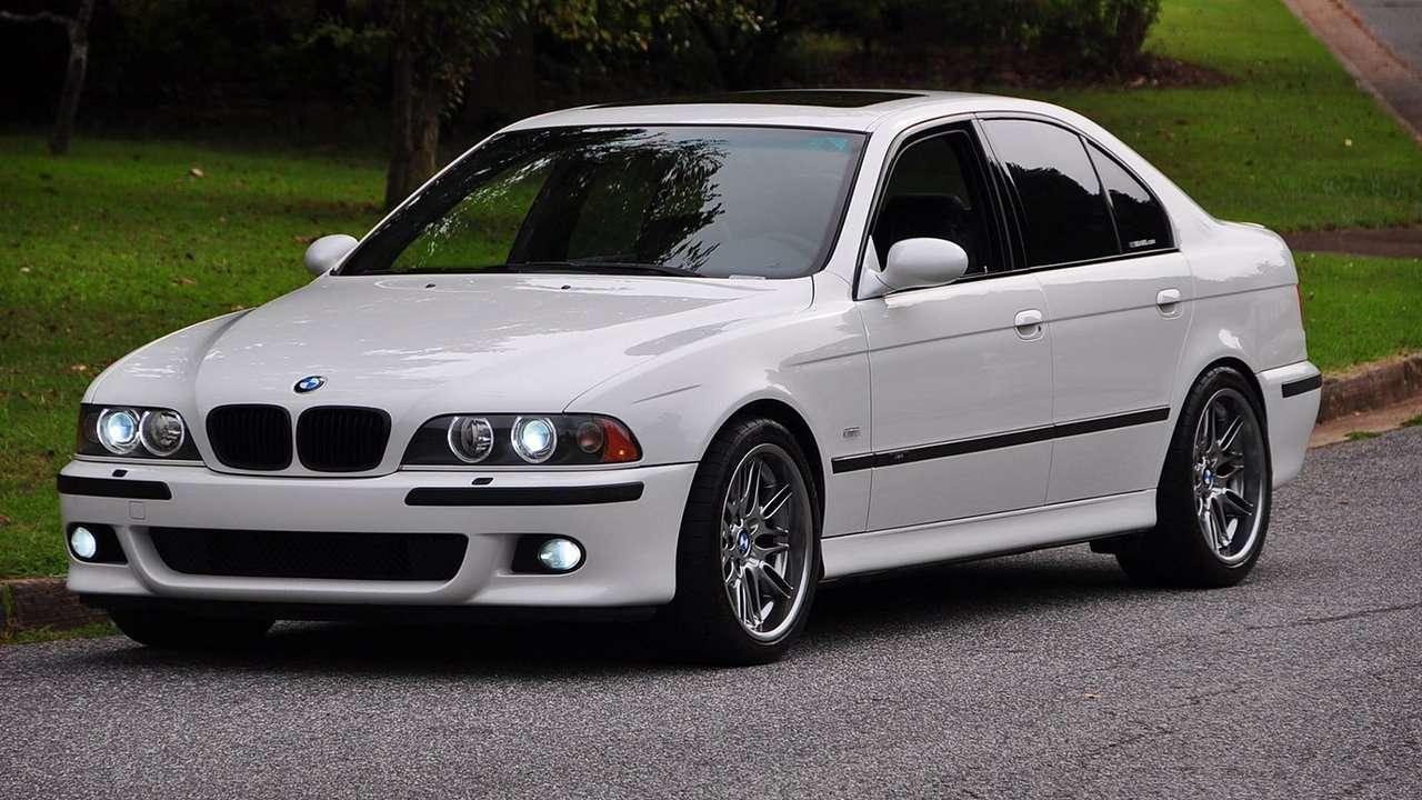 BMW M5 e39 фото спереди