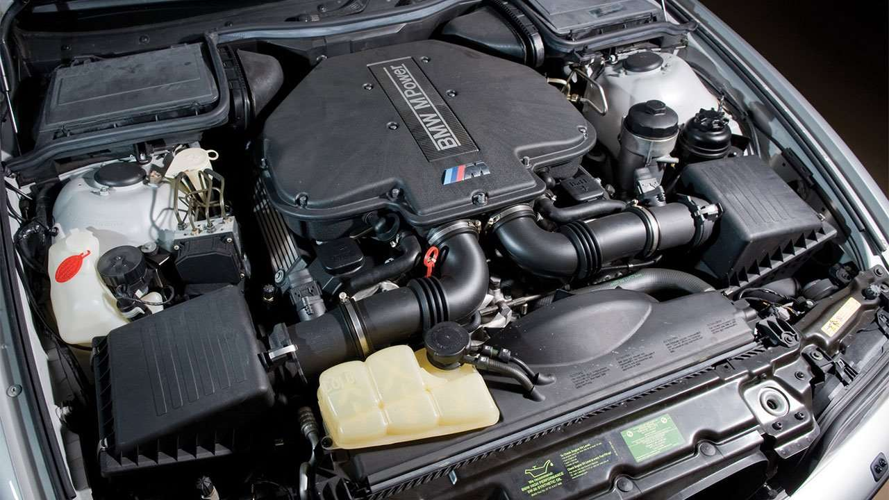 Двигатель БМВ M5 e39