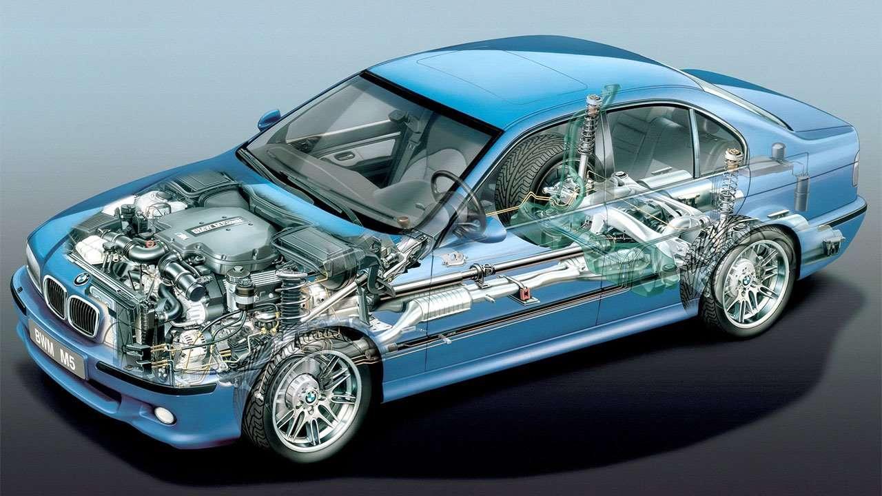 BMW М5 е49 в разрезе