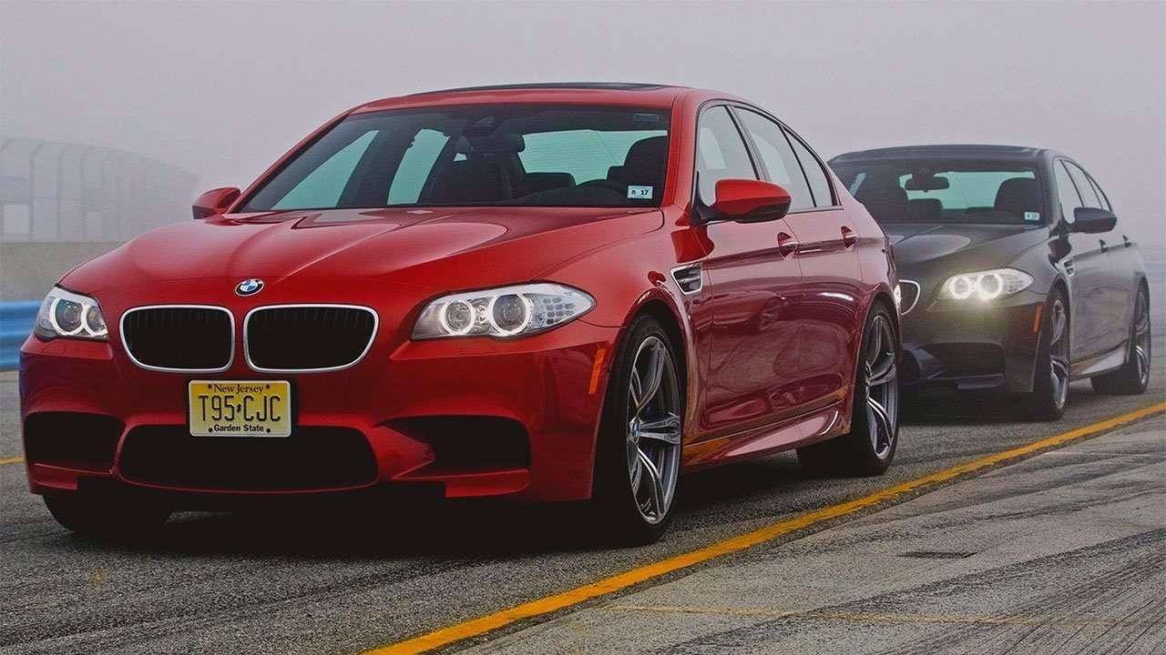 Два BMW M5 F10 кузов