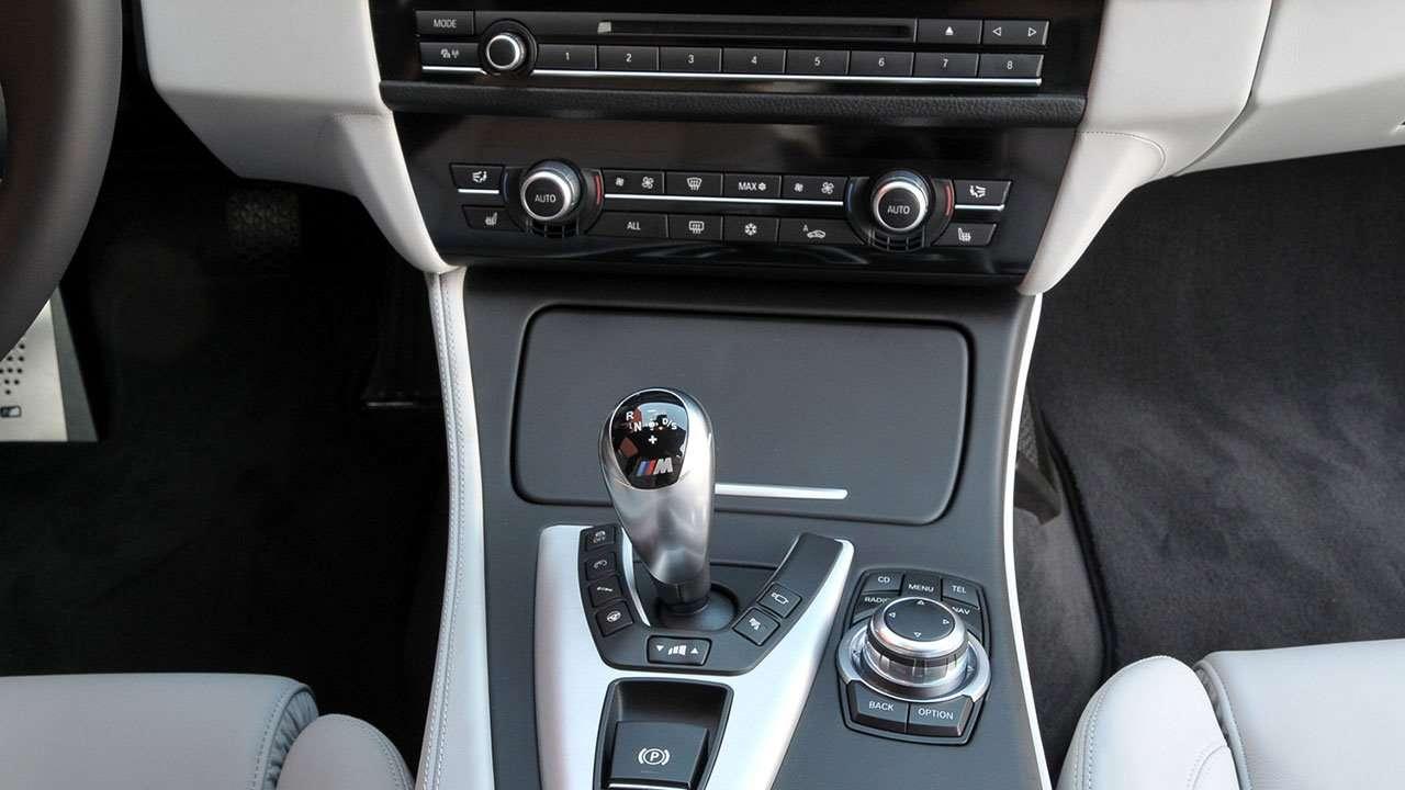 Селектор КПП BMW M5 Ф10