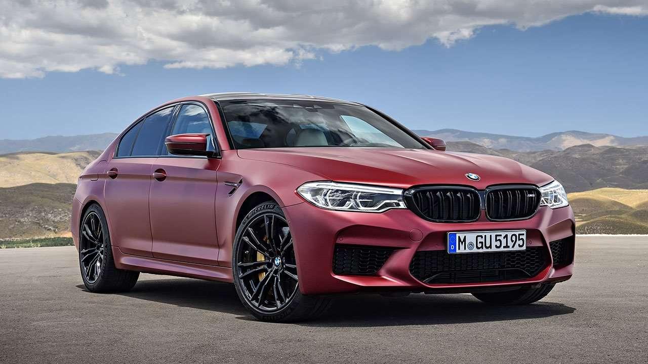 BMW M5 F90 (2020-2021) фото спереди