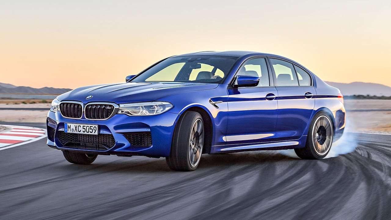 Дрифт BMW M5 F90 (2020-2021)