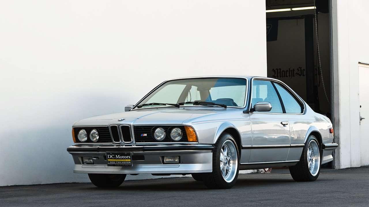 BMW M6 e24 фото спереди