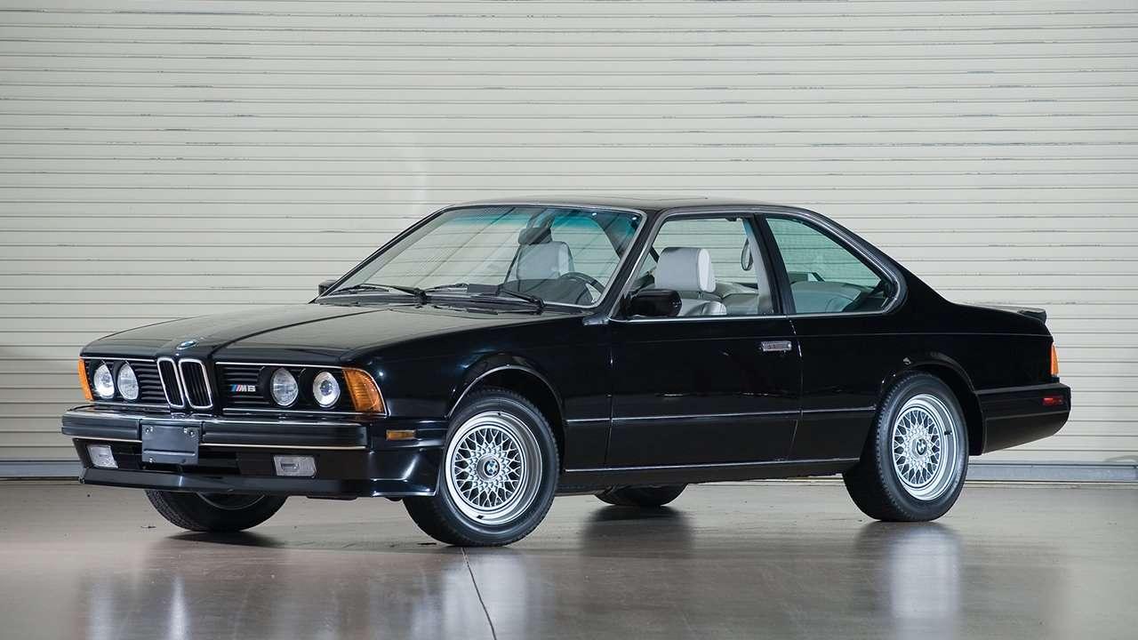 BMW M6 e24 фото передней части