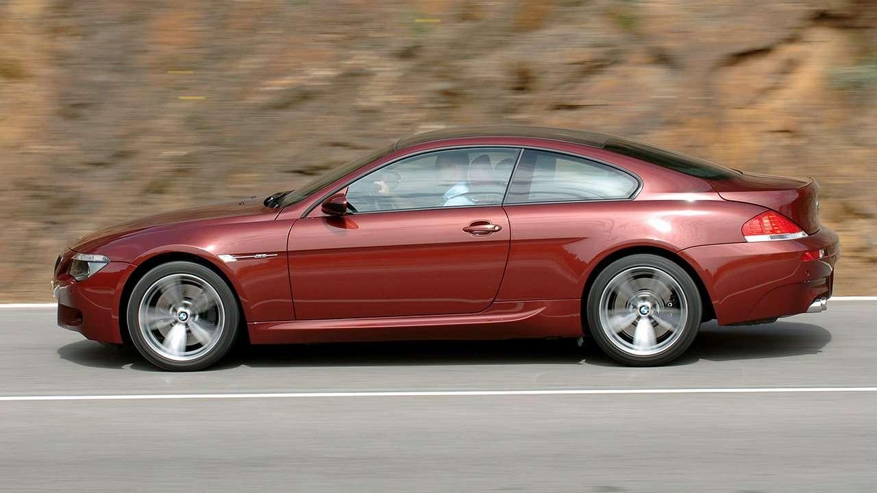 BMW M6 e63 фото сбоку