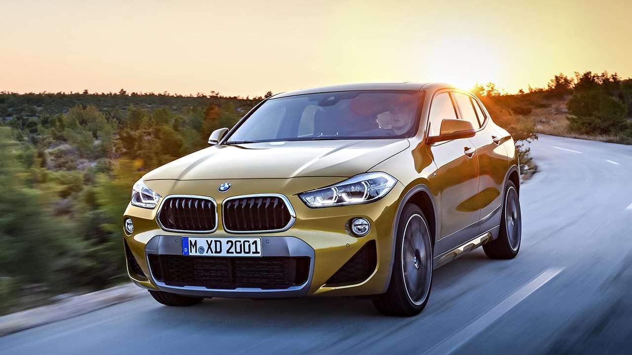 BMW X2 2020-2021 фото спереди