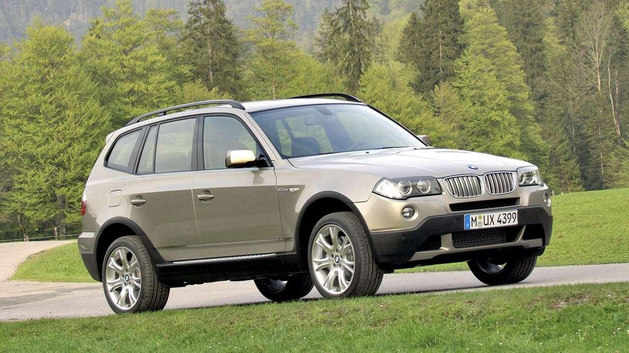 BMW X3 e83 фото спереди