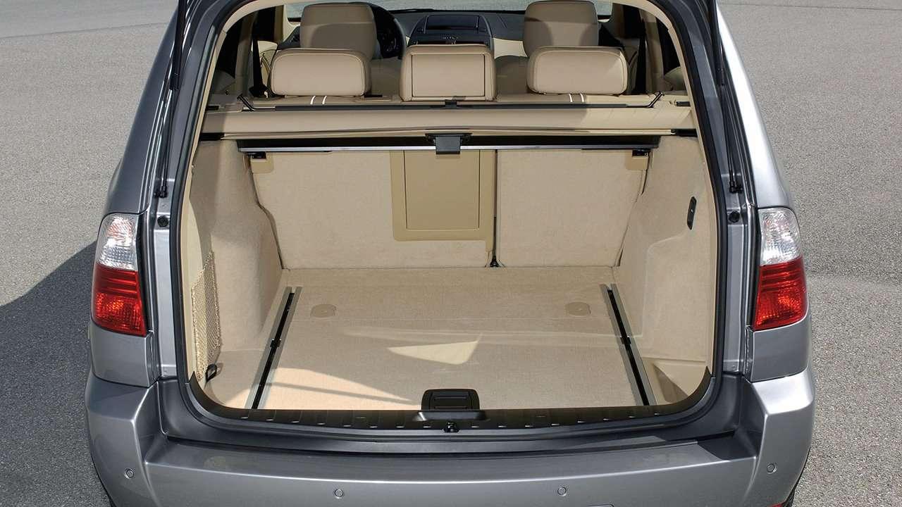 Фото багажника BMW X3 e83