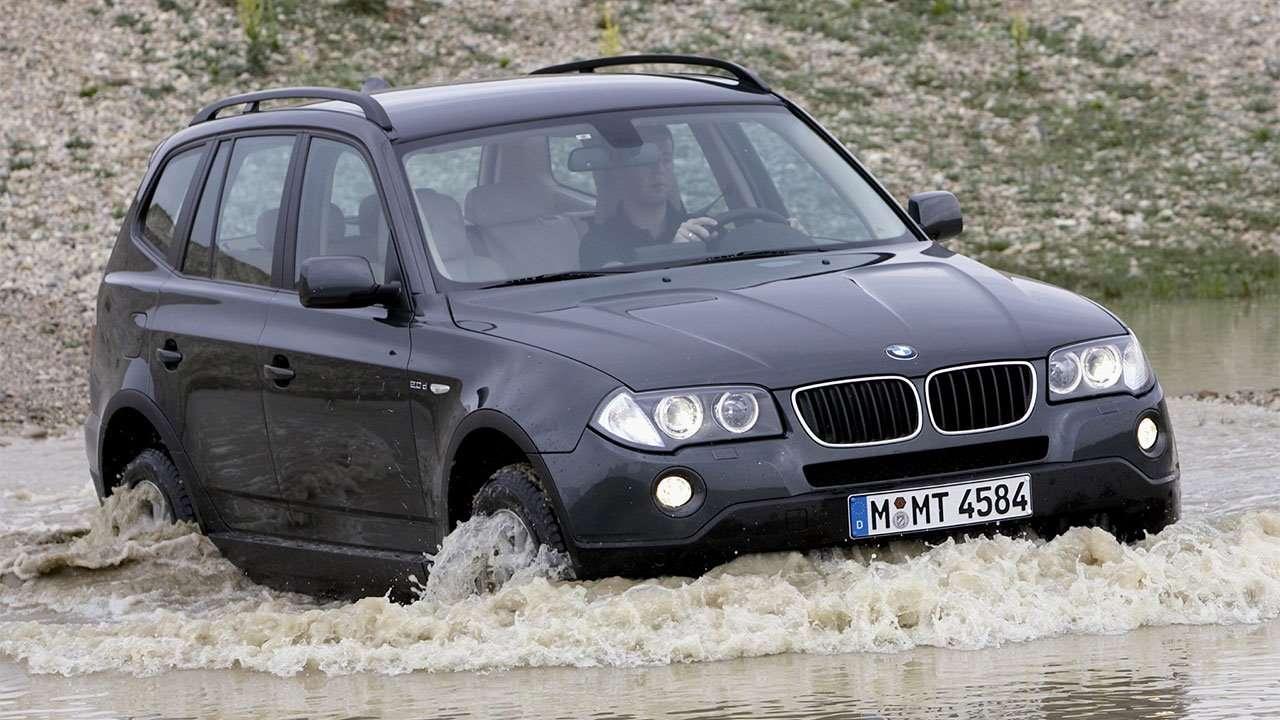 BMW X3 e83 на бездорожье