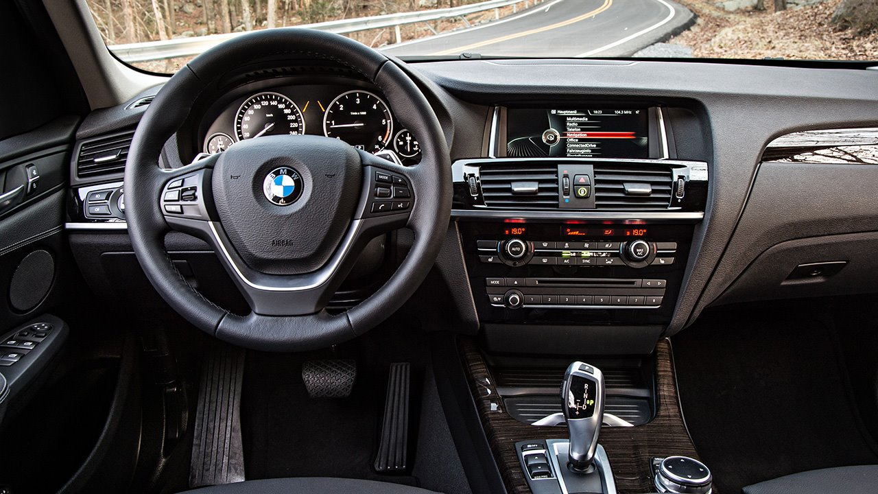 Решетка радиатора BMW X3 (2010-2017) F25