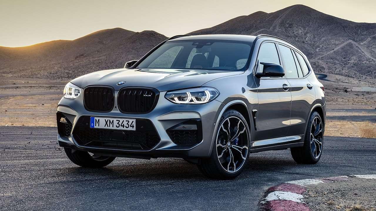 BMW X3M 2020-2021 фото спереди