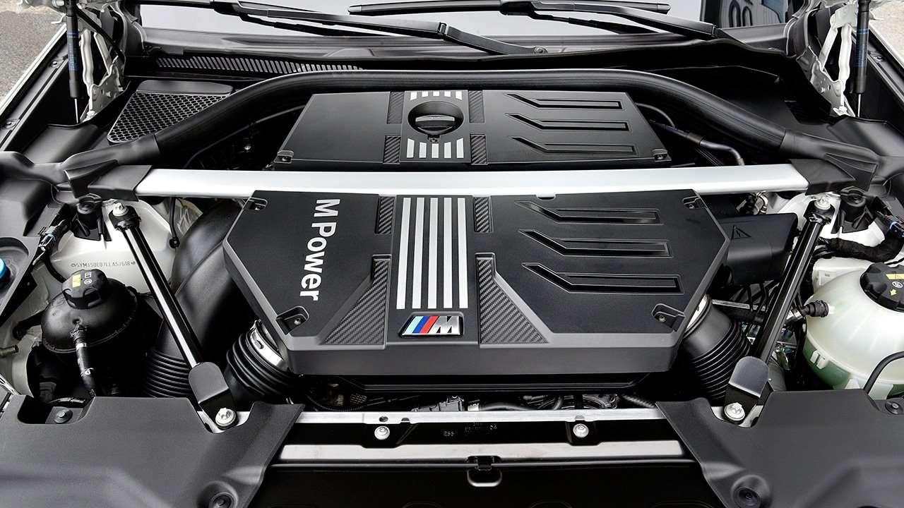 Фото двигателя BMW X3M F97