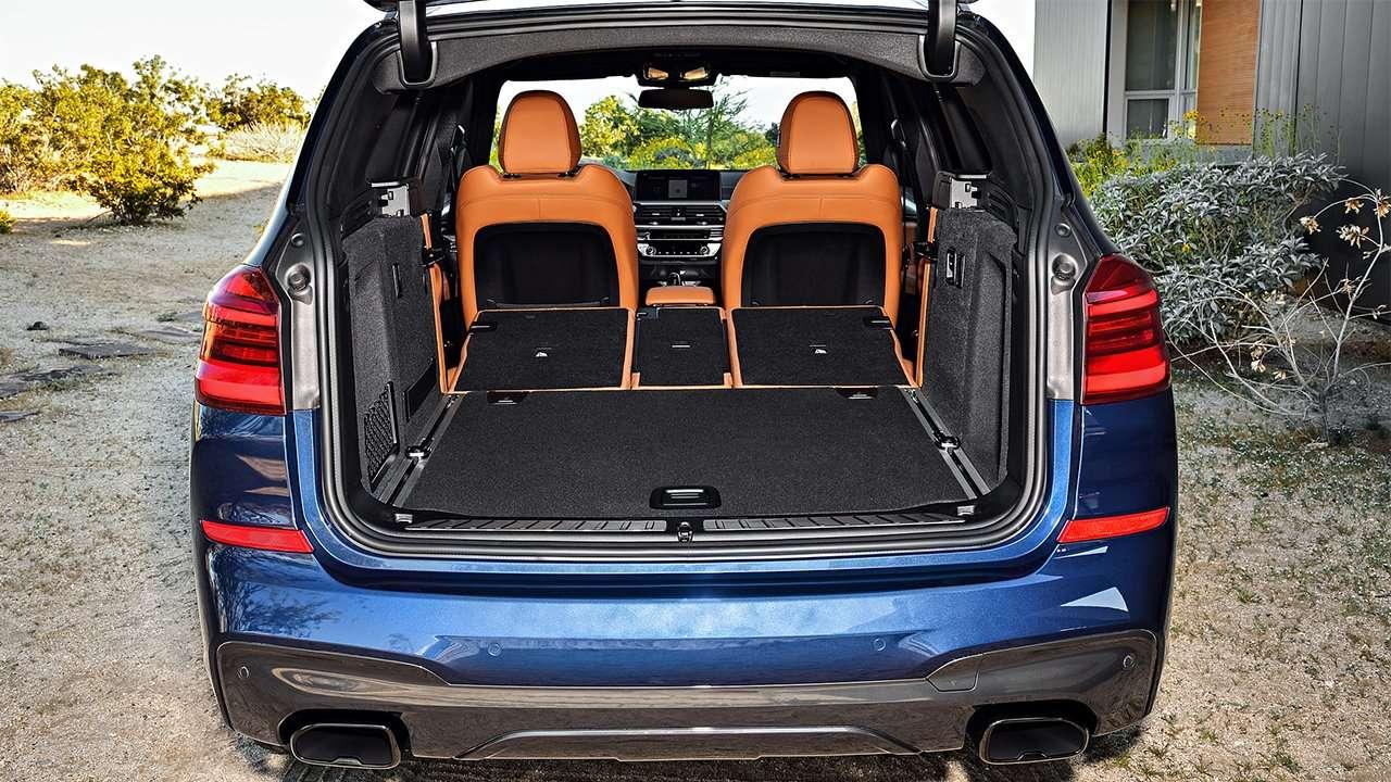 Фото багажника БМВ Х3 G01 (2020-2021)