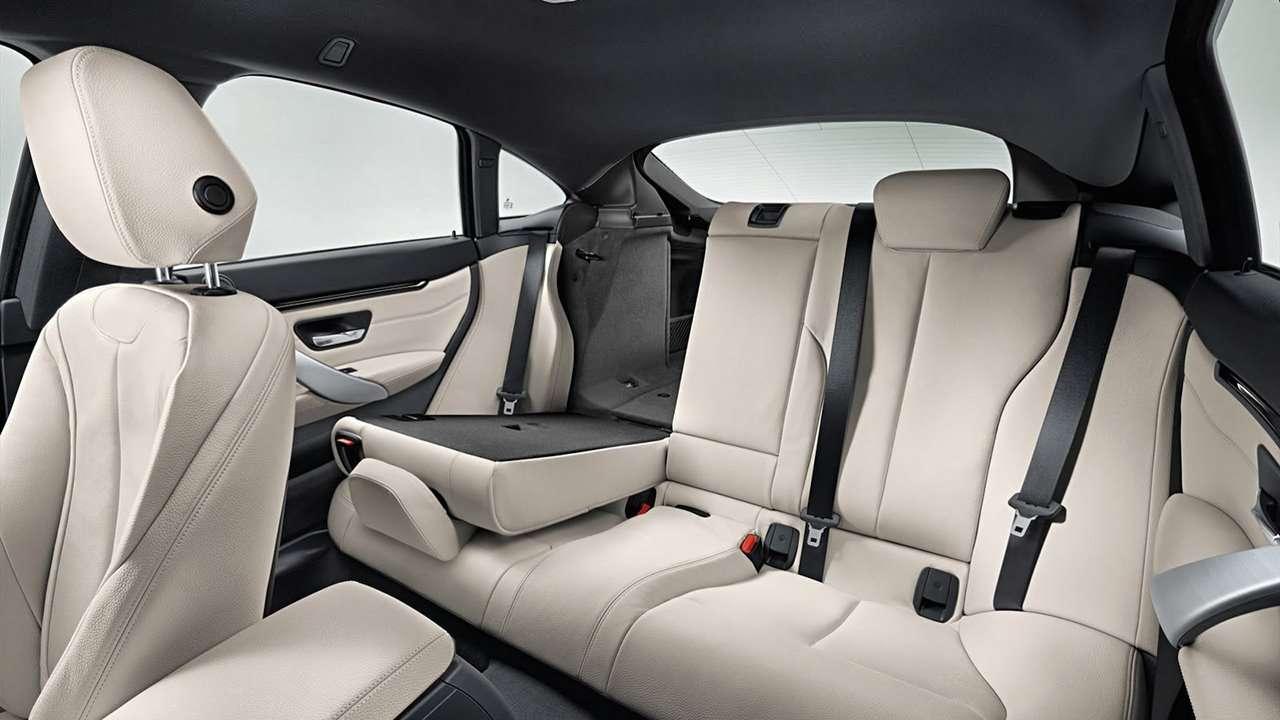 Интерьер BMW X4 2014-2017 F26