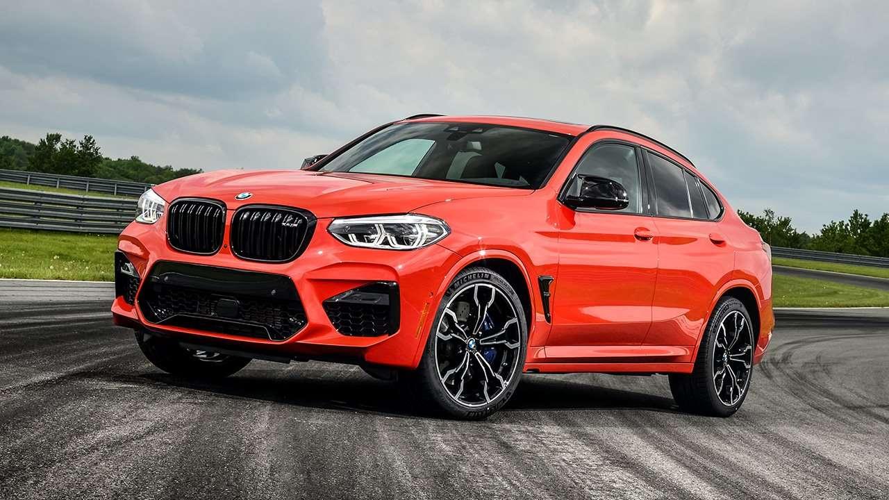 Новая BMW X4M 2020-2021