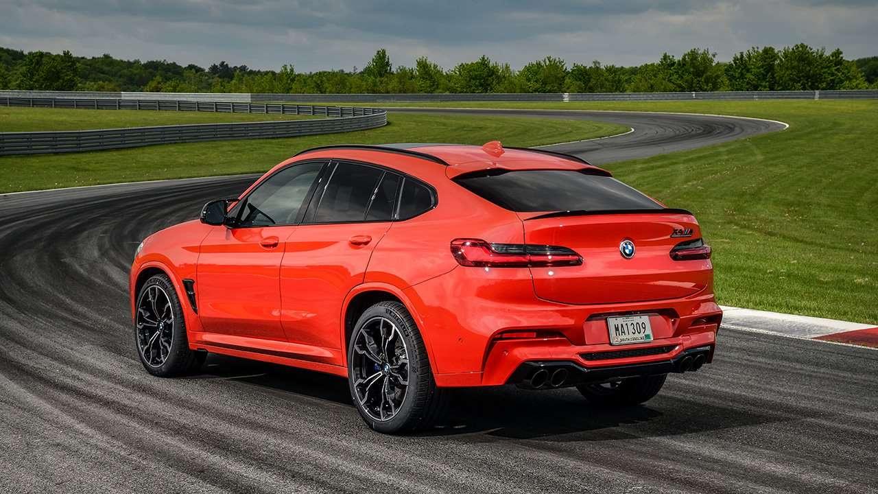 Задняя часть BMW X4M 2020-2021