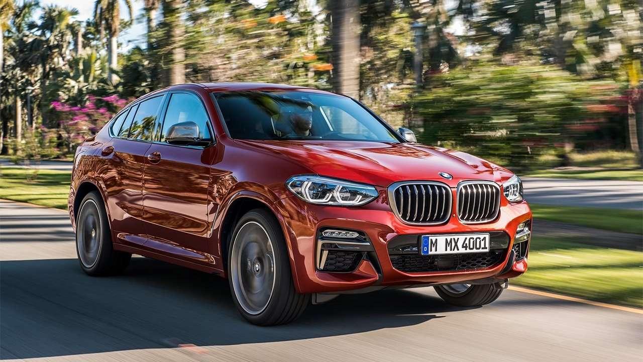 BMW X4 2020-2021 G02 фото спереди
