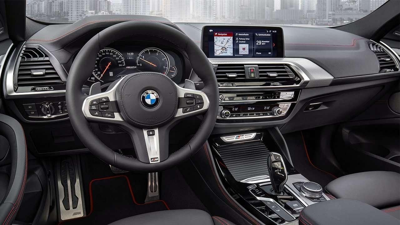 Салон новой BMW X4 G02