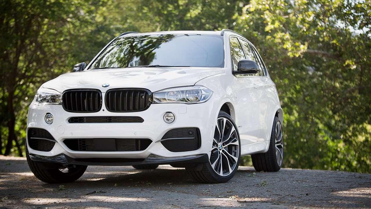 BMW X5 F15 фото спереди
