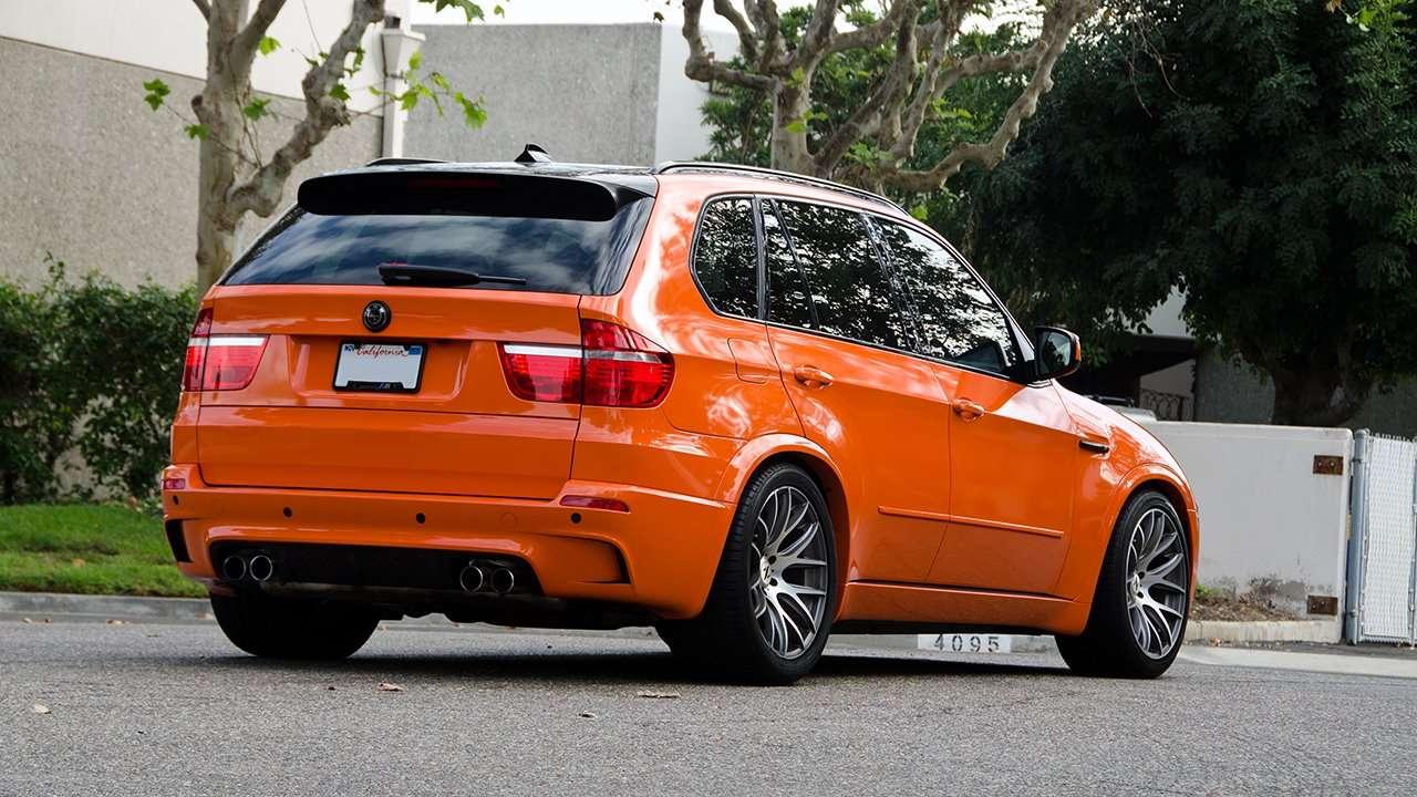 Задняя часть BMW X5M (e70)